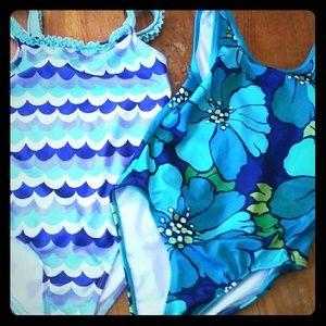 2 Gymboree bathing suits
